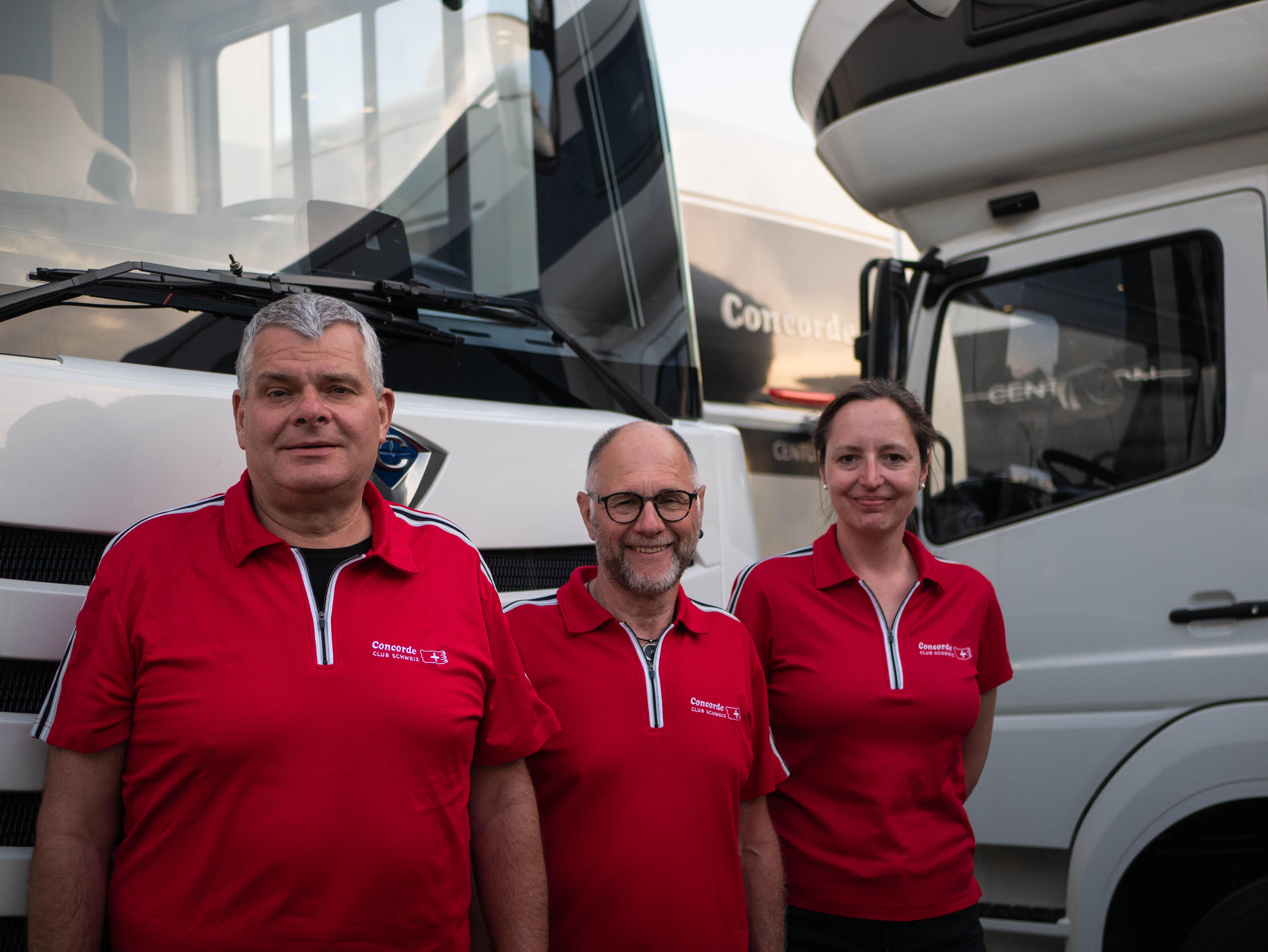 Concorde Club Schweiz Vorstand